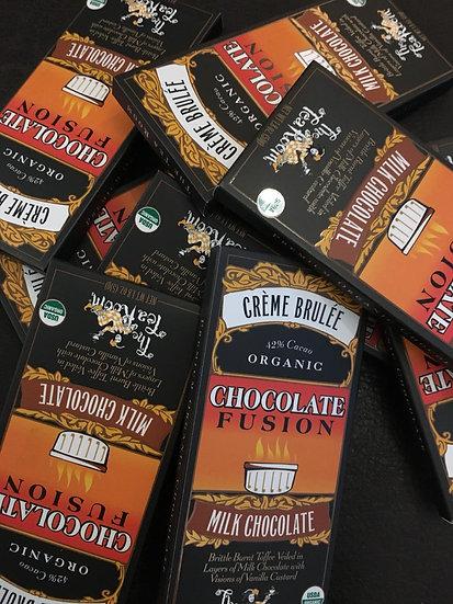 Chocolate deLeche con Créme Brulée 51 gr.