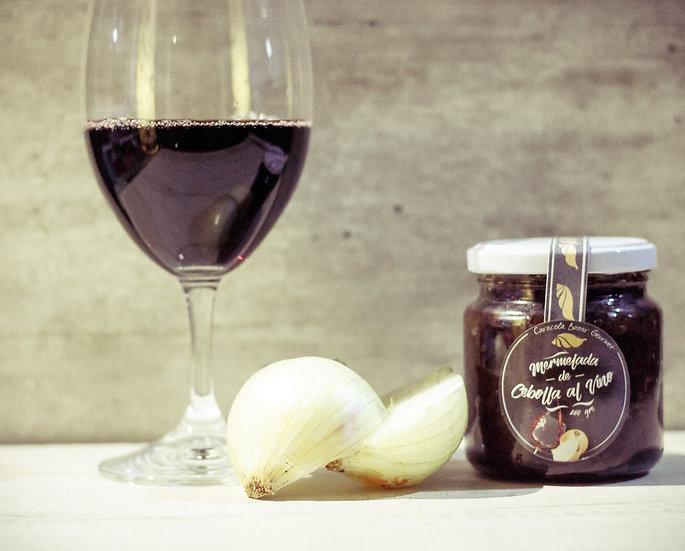 Mermelada de Cebolla y vino tinto