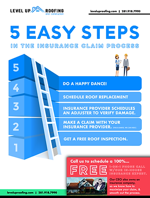 Roofing Insurance Claim Process - 5 Easy