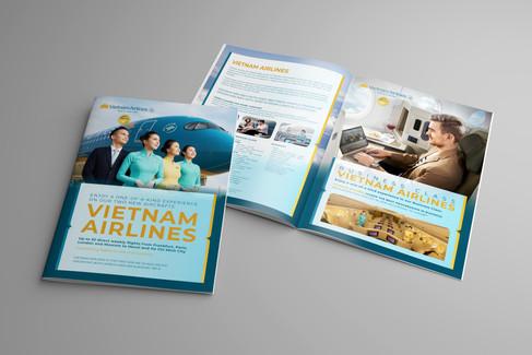 Propagační materiály Vietnam Airlines