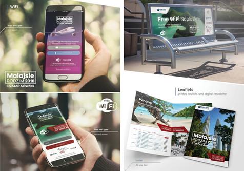 Mediální kampaň pro Qatar Airways