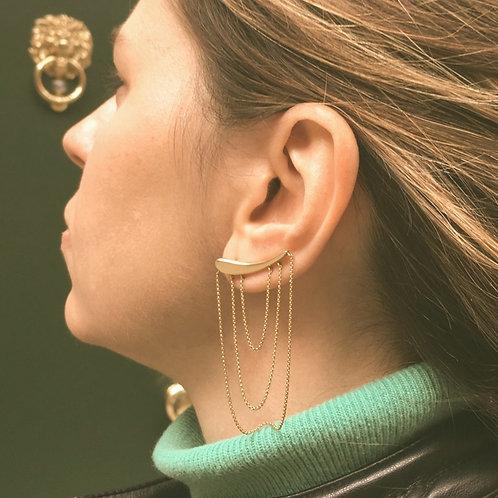 Ear cuff Linea Correntes