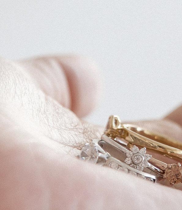 alianças e anéis de noivado