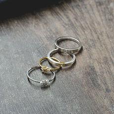 alianças e anéis de noivados