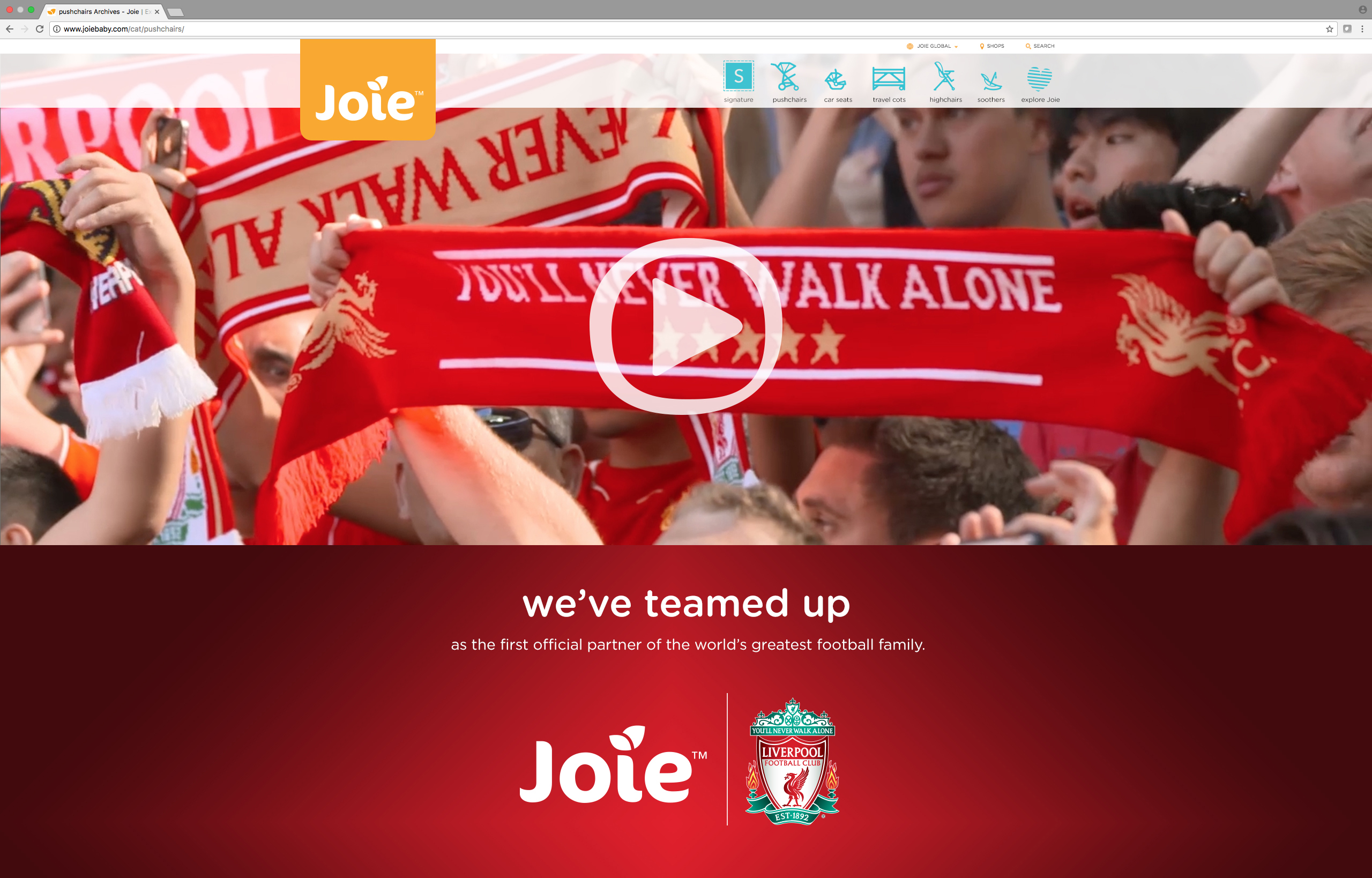 Joie Liverpool