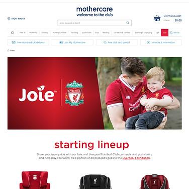 LFC Mothercare Brand Page