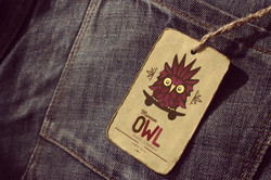 Maroon Owl