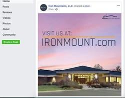 Iron Mountains Social Post