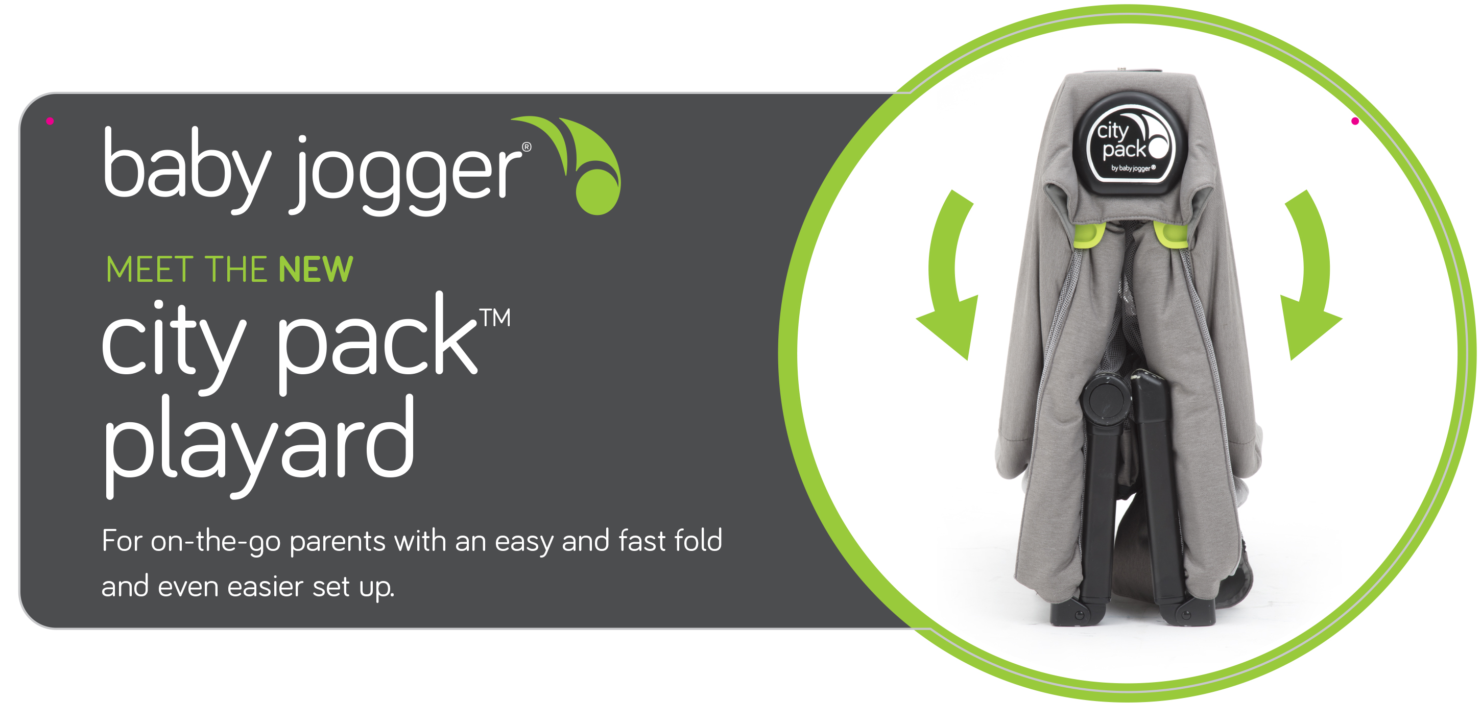 Baby Jogger Point of Purchase Tag