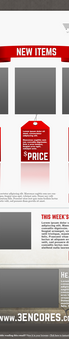 Shop Email Wireframe