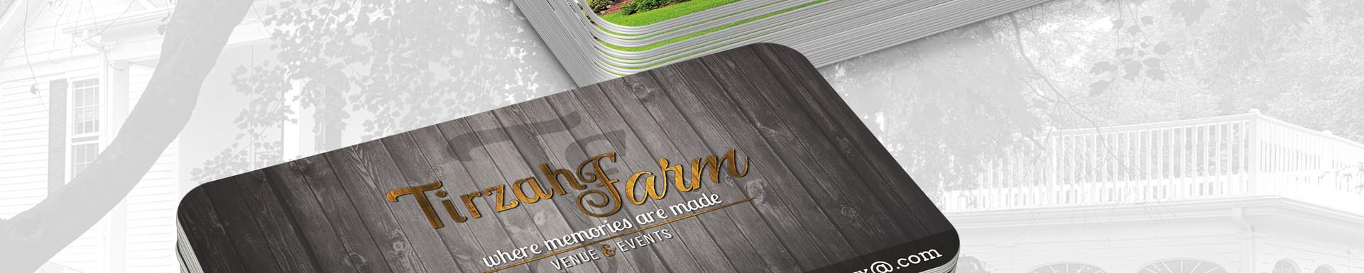 Tirzah Farm Business Cards