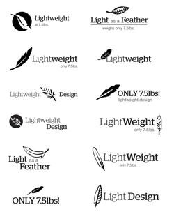 Lightweight Logo Concept Sheet