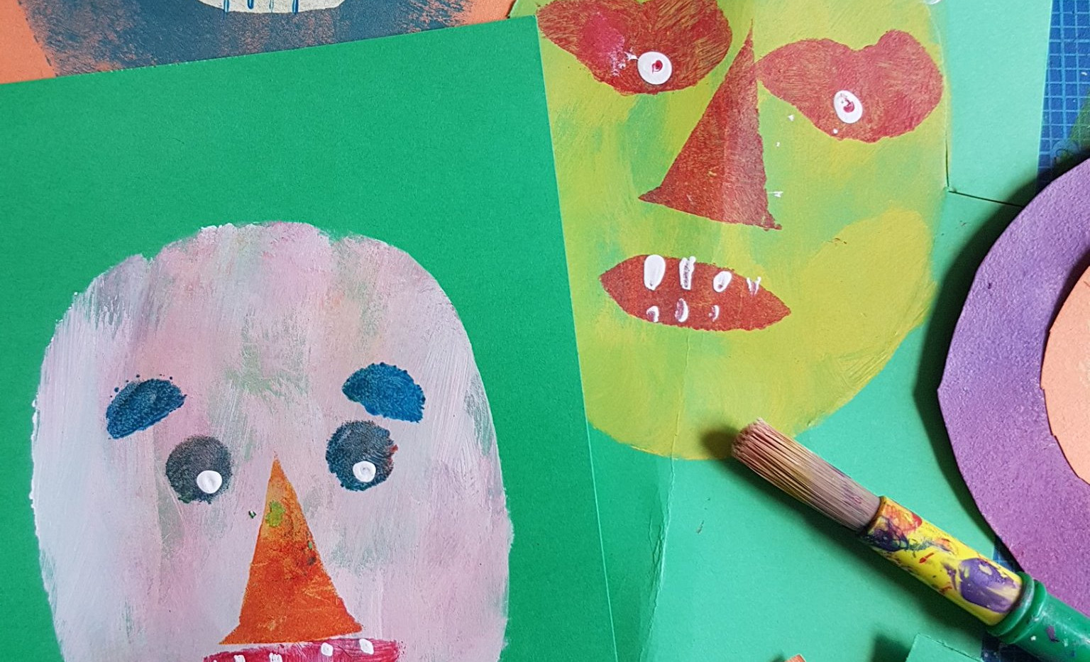 Art made by participants. Art made by participants.