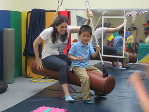 Alexi OT Occupational Therapy movement play therapy special needs autism