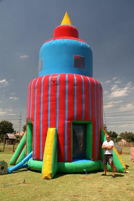 Parachute (Inflatable Rocket Ride)