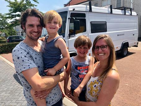 Bern & Leonie reizen een jaar door Zuidelijk Afrika
