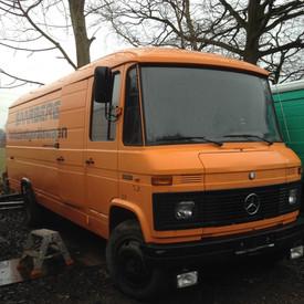 Mercedes 608, Dudo hoog