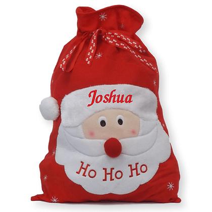 Personalised Santa jumbo sack