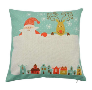 Personalised Christmas Cushion 002