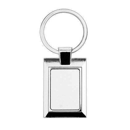 Framed Metal Keyring