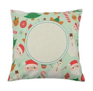 Personalised Christmas Cushion 001