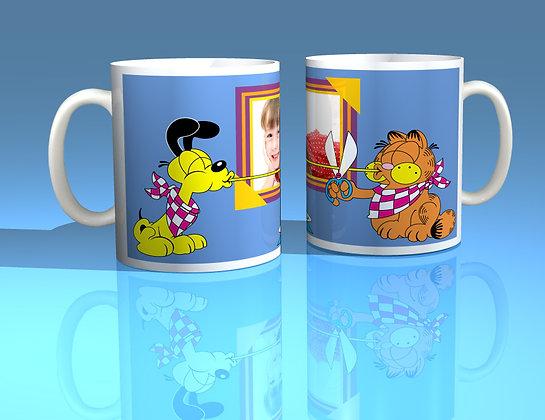 Garfield Personalised Photo Mug
