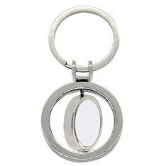 Double spinning round metal keyring.jpg