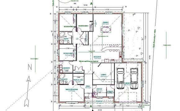 Colour Architectural drawings / Plans