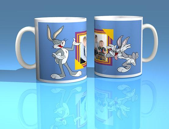 Bugs Bunny Personalised Photo Mug