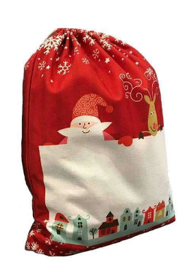 Personalised Red Santa sack