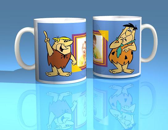 The Flintstones Personalised Photo Mug