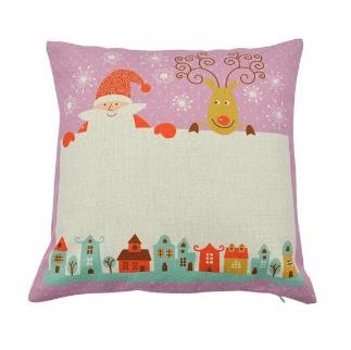 Personalised Christmas Cushion 003