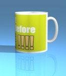 Do Not Approach Before Coffee! Mug