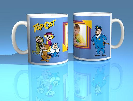 Top Cat Personalised Photo Mug