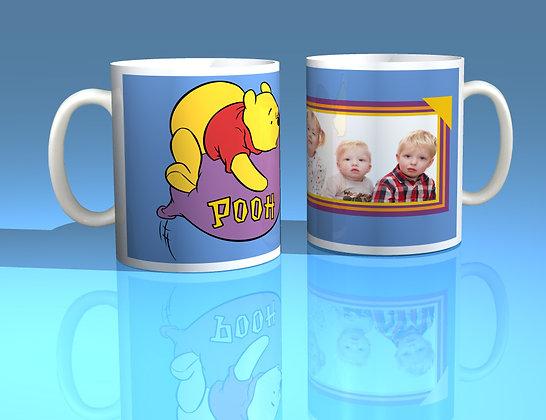 Winnie the Pooh Personalised Photo Mug