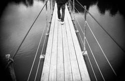 Подвесной мост / Suspension bridge
