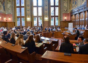 Meine Rede am European Youth Parliament in Basel