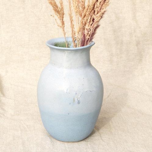 Vase dégradé Bleu et Blanc