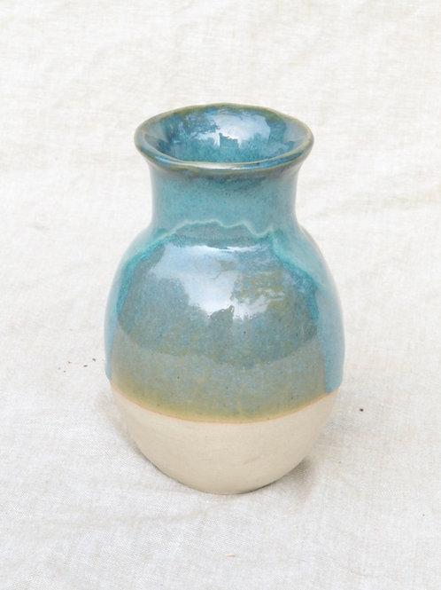 Vase bleu vague