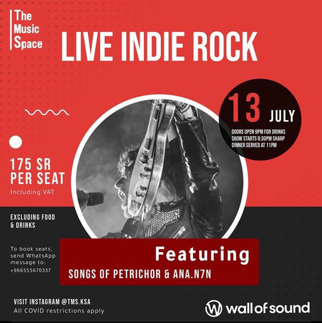 Live Indie Rock Night at TMS