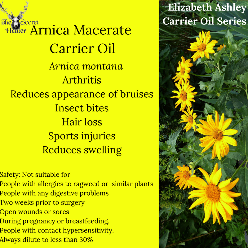 Properties and Uses of Arnica Carrier Oil