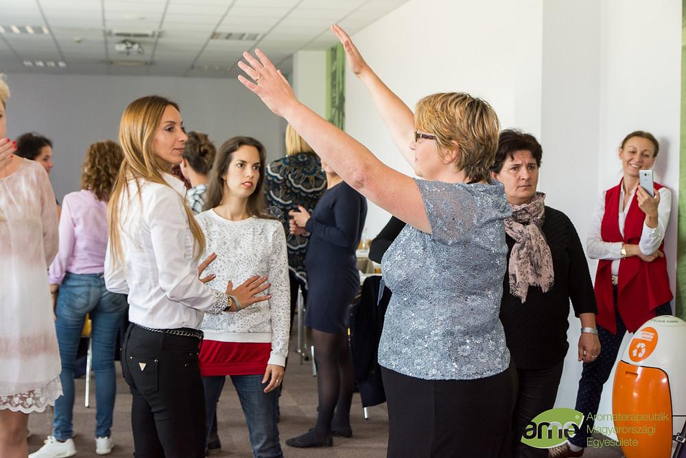 Teaching Aura Healing in Budapest