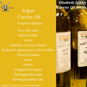 Properties and Uses of Argan Carrier Oil- List of Carrier Oils