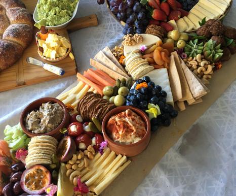 Grazing table spread