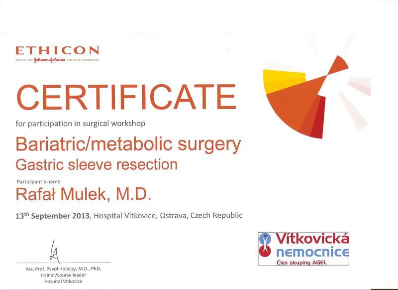 Kurs Chirurgia metaboliczna - Gastric Sl
