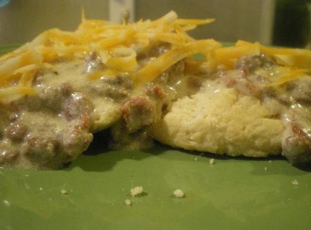 Bacon Cheeseburger Gravy...BC-SOS!