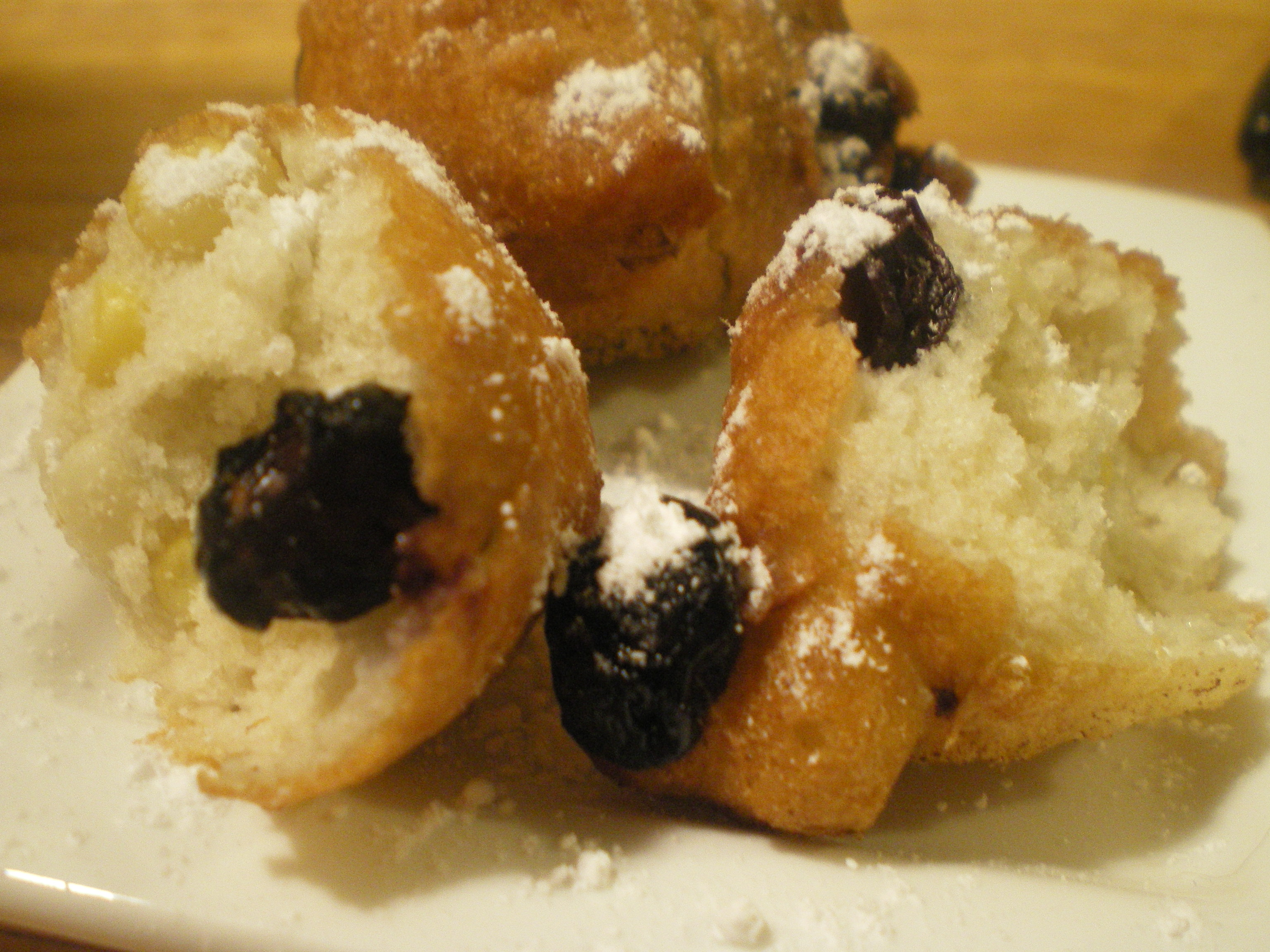 blueberry corn fritters
