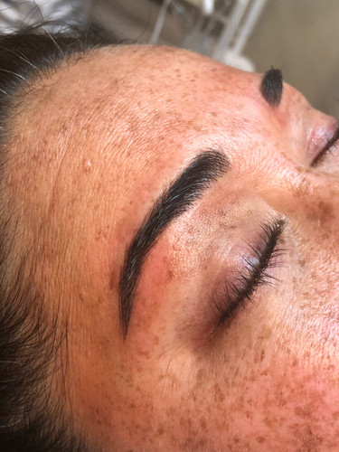 Natural and Fluffy brows