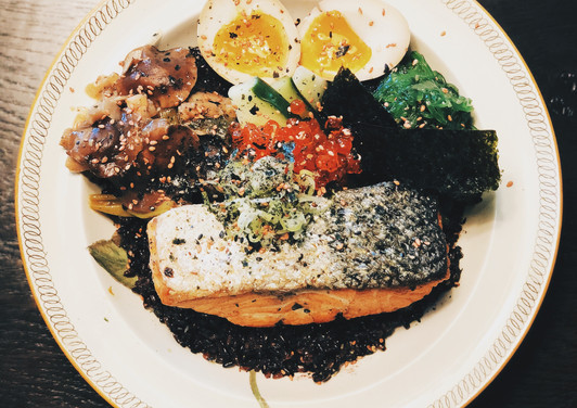 Simple Japanese Rice Bowl.JPG