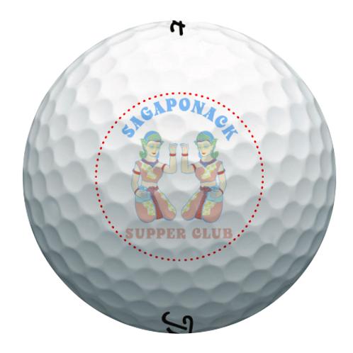 SSC Pro V1 Sleeve (3 Golf Balls)